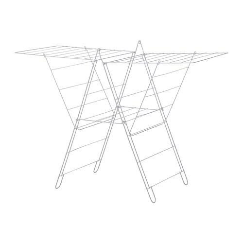FROST Drying rack, in/outdoor IKEA Simple to fold up and put away.  Suitable for both indoor and outdoor use.