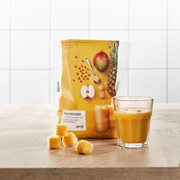 FRUKTSTUND Pre-blended smoothie mix, mango/pineapple with sea buckthorn/frozen, 420 g