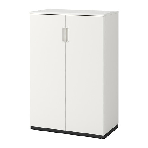 Galant Cabinet With Doors White Ikea