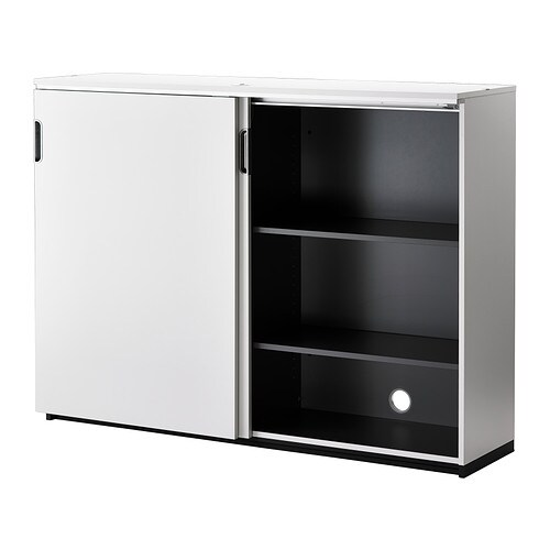 Collection White Cabinet With Sliding Doors Pictures Losro