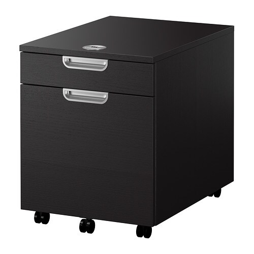 GALANT Drawer unit with drop-file storage IKEA 10 year guarantee.   Read about the terms in the guarantee brochure.