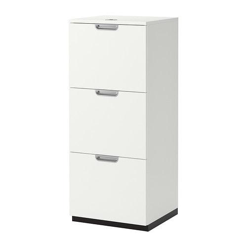 GALANT File cabinet - white - IKEA