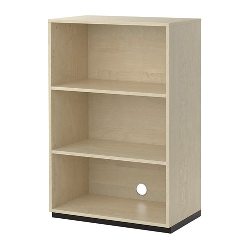 galant shelf unit birch veneer ikea