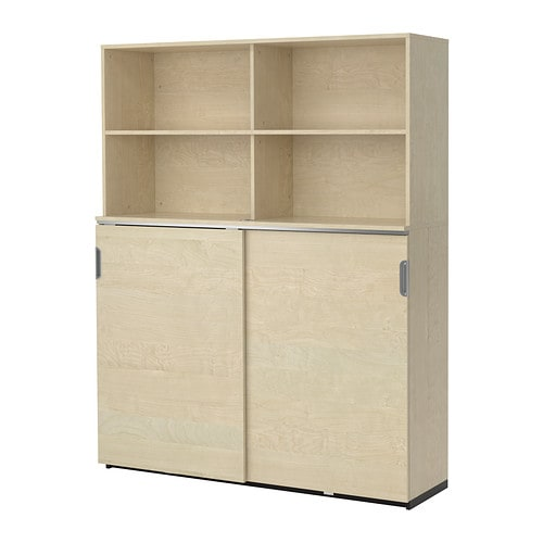 GALANT Storage combination w sliding doors IKEA