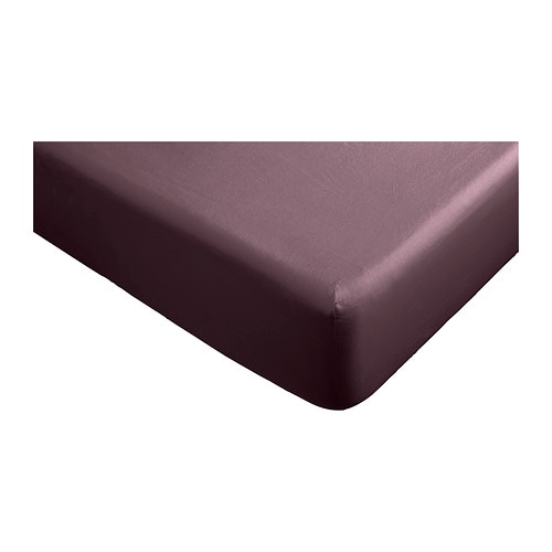 GÄSPA Fitted sheet IKEA Satin-woven cotton; gives bedlinen extra lustre and softness.