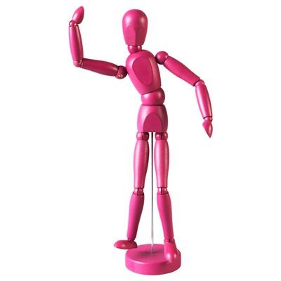 GESTALTA Artist's dummy, pink, 33 cm