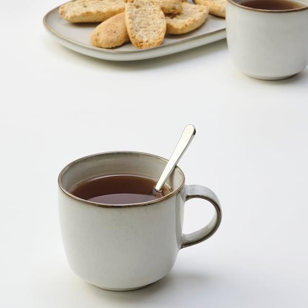 GLADELIG Mug, grey, 37 cl