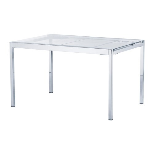 GLIVARP Extendable table IKEA 1 extension leaf included.