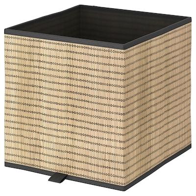 GNABBAS Box, seagrass, 30x30x30 cm