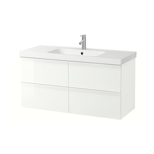 GODMORGON / ODENSVIK Wash-stand with 4 drawers IKEA 10 year guarantee.   Read about the terms in the guarantee brochure.