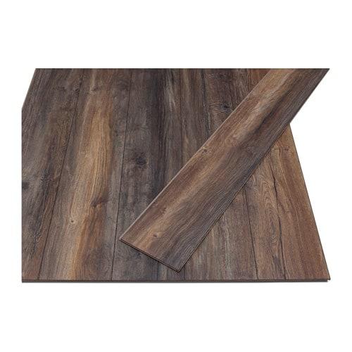 Golv laminated flooring ikea for Parquet in pvc ikea