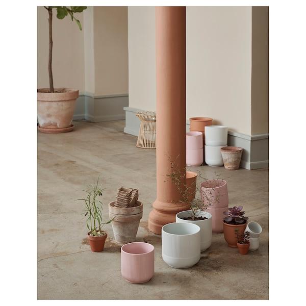 GRADVIS Plant pot, pink, 12 cm