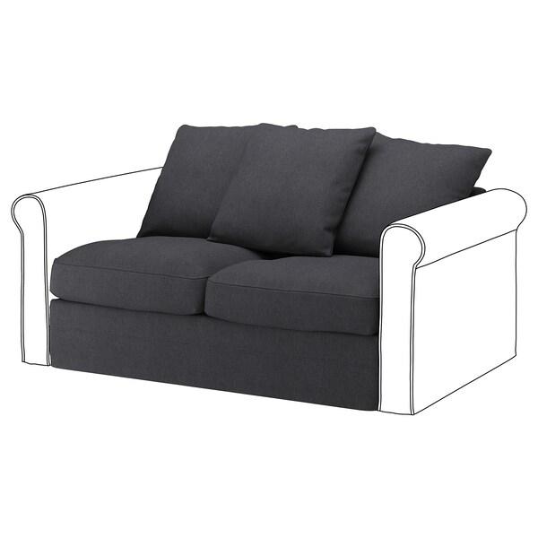 GRÖNLID Cover for 2-seat section, Sporda dark grey