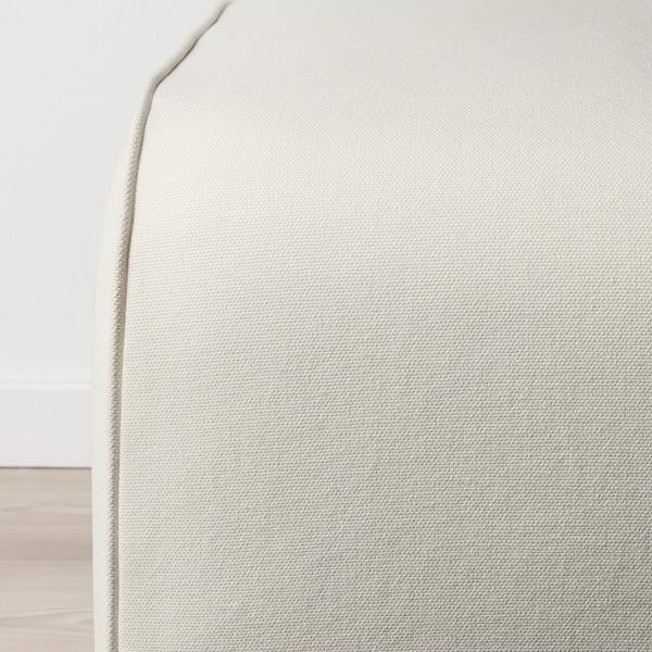 GRÖNLID Footstool, Inseros white