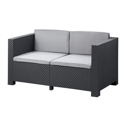 gruarna sofa with cushions ikea. Black Bedroom Furniture Sets. Home Design Ideas