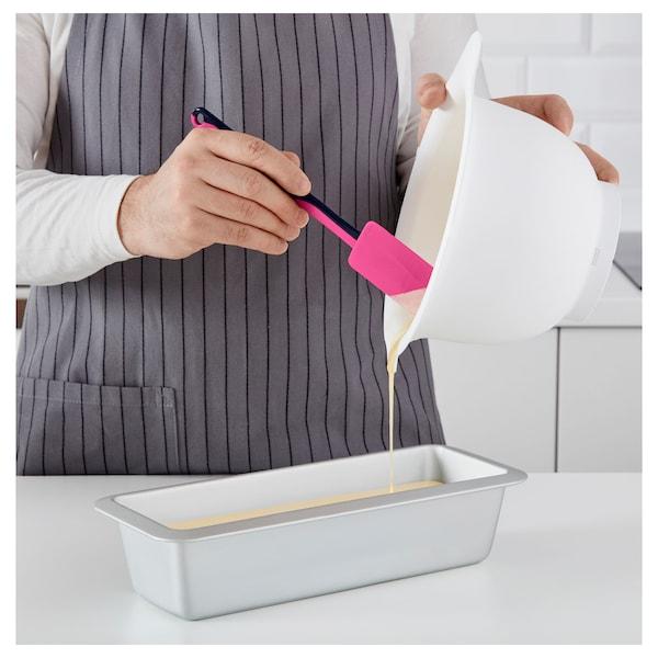 GUBBRÖRA rubber spatula green/pink/blue/white 25 cm