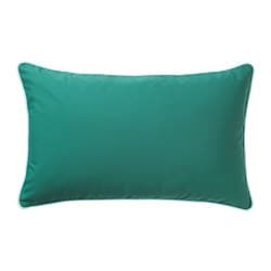 GULLINGEN cushion cover, in/outdoor, dark turquoise