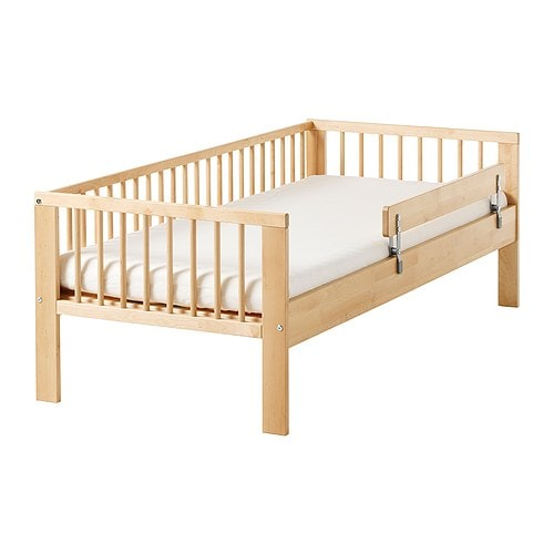 Ikea Toddler Bed With Mattress ~ GULLIVER Bed frame with slatted bed base IKEA Solid wood, a hard