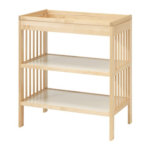 Gulliver changing table ikea - Table reglable en hauteur ikea ...
