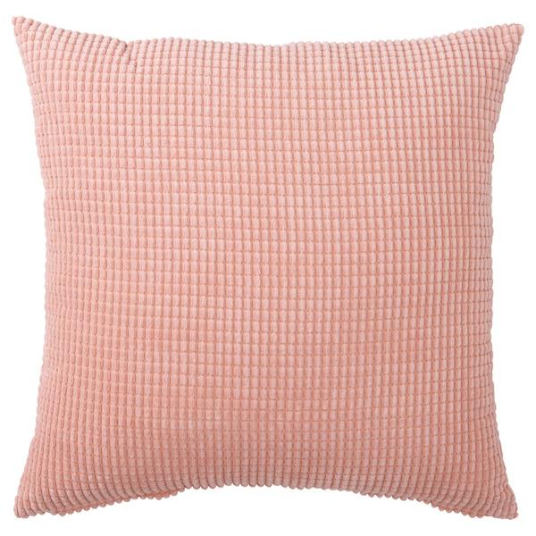 GULLKLOCKA Cushion cover, pink, 50x50 cm