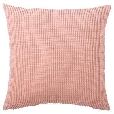 GULLKLOCKA cushion cover pink 65 cm 65 cm