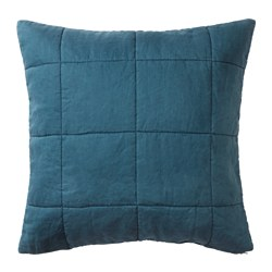 GULVED cushion cover, dark blue