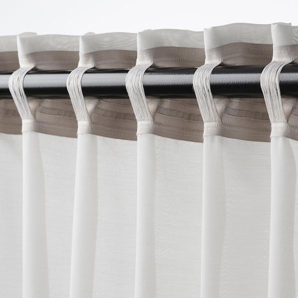 GUNRID air purifying curtain, 1 pair light grey 250 cm 145 cm 0.92 kg 3.63 m² 2 pack