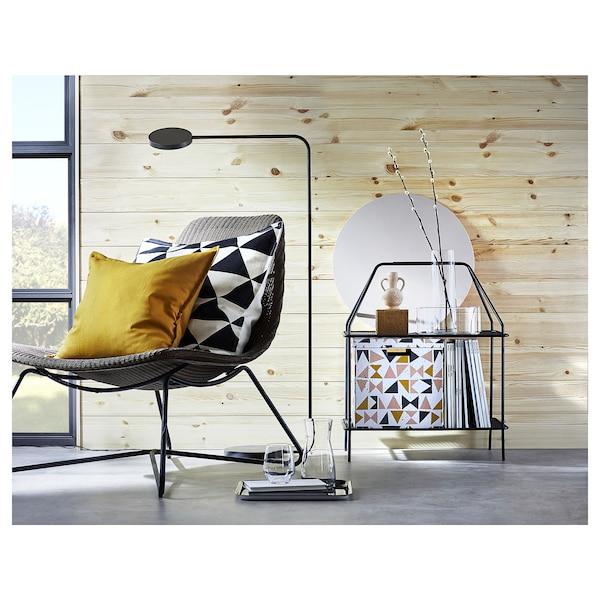 GURLI Cushion cover, golden-yellow, 50x50 cm
