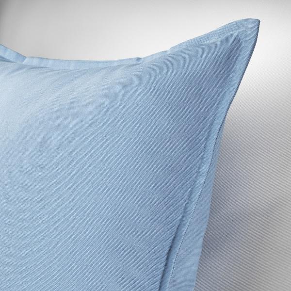 GURLI Cushion cover, light blue, 50x50 cm