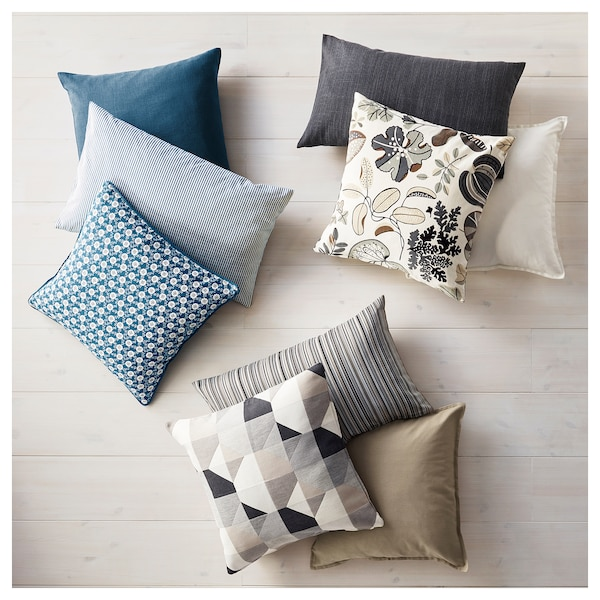 GURLI Cushion cover, white, 50x50 cm