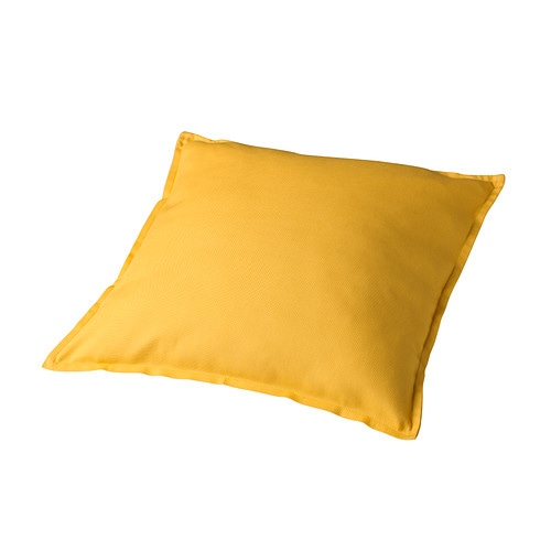 GURLI Cushion cover IKEA Zipper makes the cover easy to remove for washing.