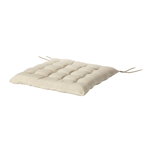 HÅLLÖ Chair cushion, outdoor, beige