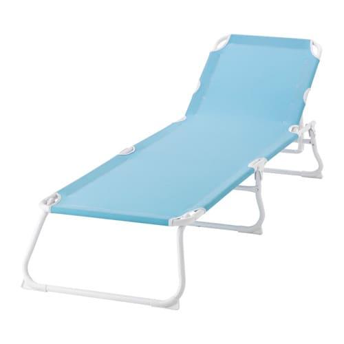 h m sun lounger light blue ikea. Black Bedroom Furniture Sets. Home Design Ideas