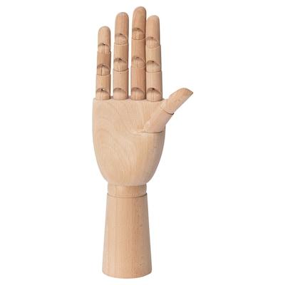 HANDSKALAD Decoration, hand, natural