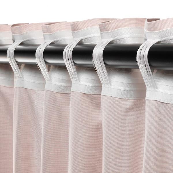 HANNALILL curtains, 1 pair dark pink 250 cm 145 cm 1.00 kg 3.63 m² 2 pack