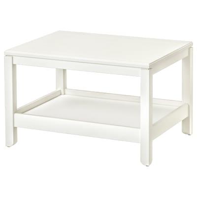 HAVSTA Coffee table, white, 75x60 cm