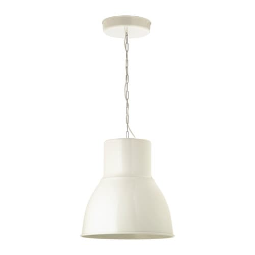 Hektar pendant lamp white 47 cm ikea - Suspension blanche ikea ...