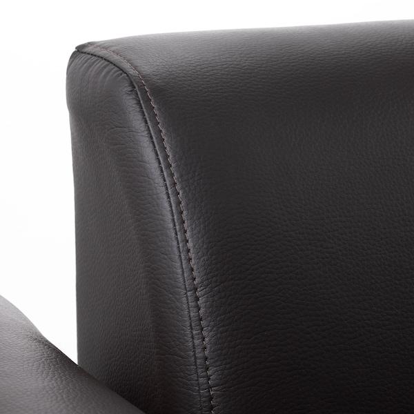 HEMLINGBY Two-seat sofa, Bomstad dark brown