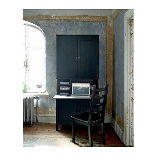 Favori HEMNES Bureau with add-on-unit - white stain - IKEA YF57