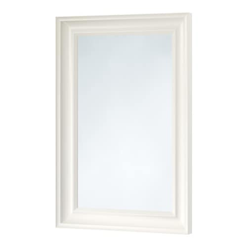 HEMNES Mirror IKEA Can be hung horizontally or vertically.  Provided with safety film - reduces damage if glass is broken.
