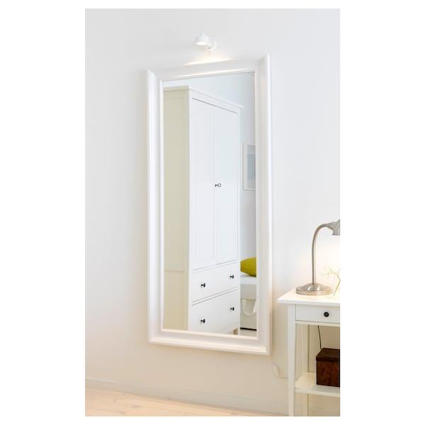 HEMNES Mirror, white, 74x165 cm