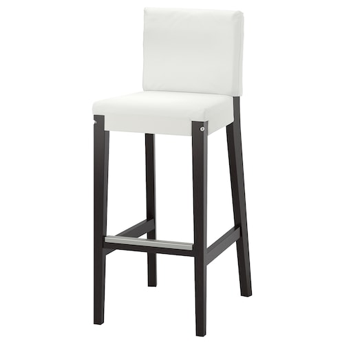 IKEA HENRIKSDAL Bar stool with backrest frame
