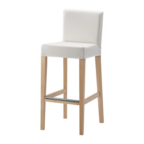 Henriksdal bar stool with backrest ikea the padded seat means you sit