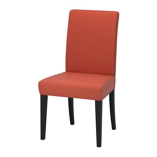 HENRIKSDAL Chair Skiftebo Dark Orange IKEA