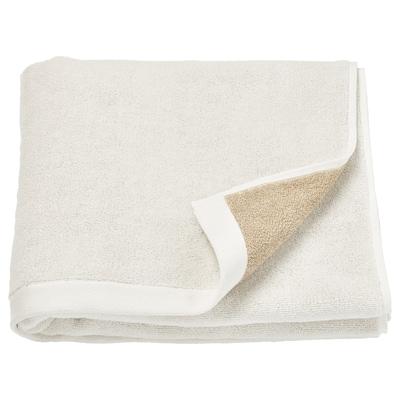 HIMLEÅN Bath towel, beige/mélange, 70x140 cm