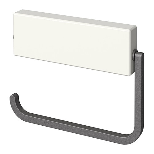 HJÄLMAREN Toilet roll holder  white,  IKEA -> Ikea Wandregal Hjälmaren