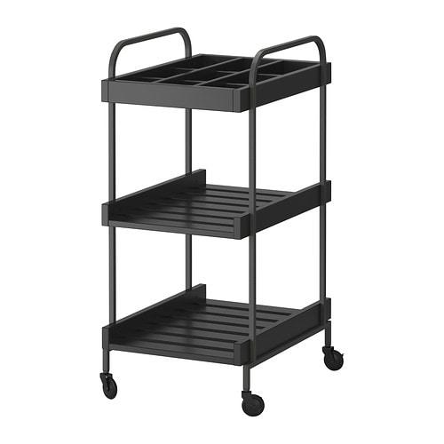 Mooiste Badkamertegels ~ HJ?LMAREN Trolley IKEA Easy to move  castors included