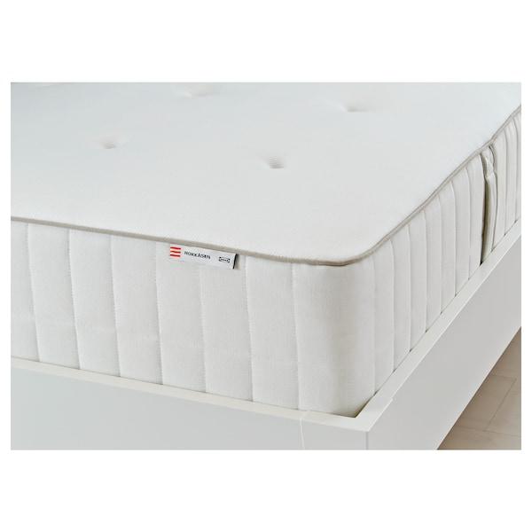 HOKKÅSEN pocket sprung mattress firm/white 189 cm 92 cm 31 cm