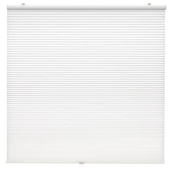 HOPPVALS Cellular blind, white, 140x155 cm