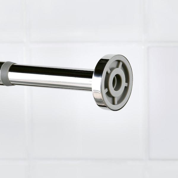 HORNEN Shower curtain rod, 120-200 cm